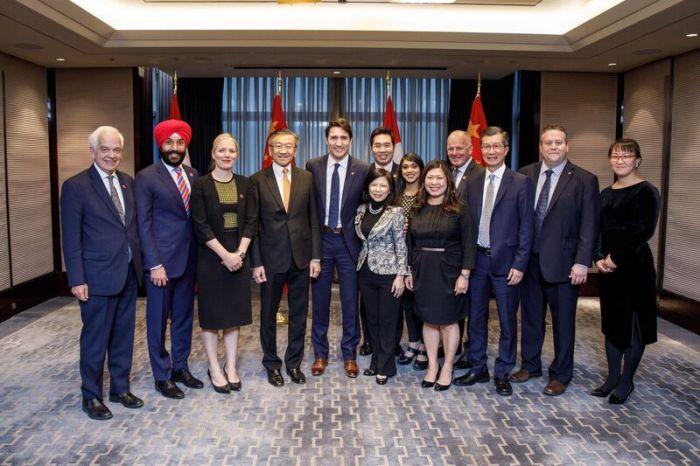 Toronto bid win-Trudeau